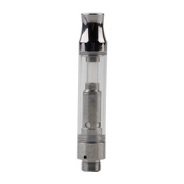 Wholesale lighted tank vaporizer - New G10 Cartridge With LED Light 1.0ml Pyrex Glass Ceramic Cotton Coil Vaporizer Atomizer 510 Thead Oil Tank EGO Vape Preheat Battery