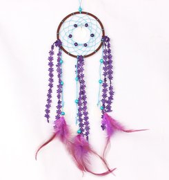 Wholesale Wood Craft Cars - Handmade Dream Catcher Lace Flower Tassel with Shell Big Dream Catcher Wall Hanging Home Car Decor Craft Ornament Gifts