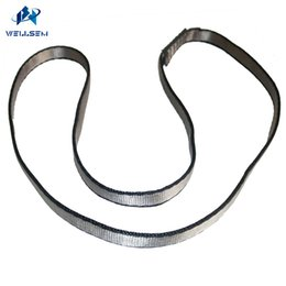 Wholesale Sling System - 1pcs 23KN Singing Rock 16mm Nylon Sling Runners Personal Anchor System Form Outdoor climbing ,Swing ,Yoga hammock