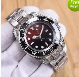 Wholesale United States Brands - Europe and the United States top luxury brand men's watch engraving series of automatic machinery 44mm waterproof