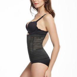 9d0bc93aebd7f 1PC Slimming Bodysuit Women Postpartum Thin Waist Shapewear High Quality  Ladies Bodysuit Corsets Sexy Body Shapers Plus Size
