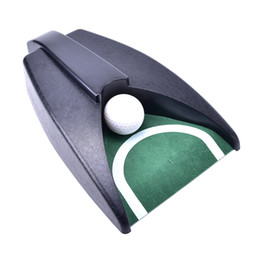 Wholesale Golf Training Aids - Automatic Golf Ball Kick Back Return Putting Cup Device Training Aid