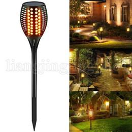 96 LED Su Geçirmez Titrek Alev Güneş Torch Işık Açık Bahçe Lambası LED Yangın Etkisi Manzara Gece OOA5192 nereden