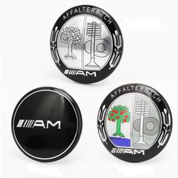 3D Aufkleber AMG Emblem Für Mercedes BZ Start Stop Motor Knopf dekorativ 39mm Durchmesser innen Zündung Emblem von Fabrikanten