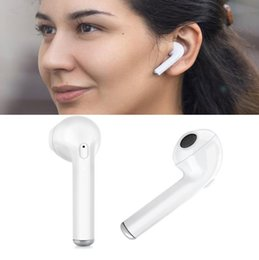 Wholesale Iphone Earphones Cases - Wireless Bluetooth earphone for iphone 8 with charger case microphone TWS earphones for iphone airpod replacement