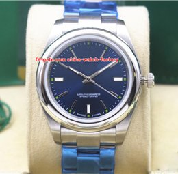 Wholesale watch lady - 8 Color Luxury High Quality Watch 39mm 36mm 31mm 114300 Oyster Perpetual Asia 2813 Movement Mechanical Automatic Mens Ladies Women's Watches