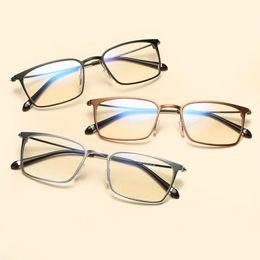 581bb45ca38 High Quality Optical Glasses Frame Aluminum Magnesium Blue Light Filter Computer  Eyeglasses Anti Radiation Goggles Spectacle frames