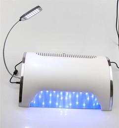 Wholesale Tool Sander - 10PCS Strong Power 54W Led UV Nail Dryer Curing Lamp Nail Dust Collector 3 Fans Vacuum Cleaner Drill Polish Sander Beauty Tool