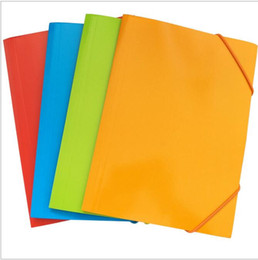 vente en gros A4 sac d'archivage multi couleur dossiers de papier classeurs fournitures de fichier fichier de poche étudiant papeterie nouvelle arrivée ? partir de fabricateur