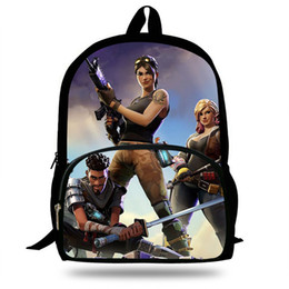 6d68b9eda4e9 2018 Newest Backpack Fortnite Battle Royal POP Game Printing Children  School Bags Boys Teenage Girls Casual Backpacks