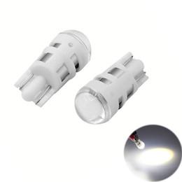 Tronc rouge en Ligne-T10 1SMD 3030 ampoules intérieures de LED pour le remplacement automatique de voiture allume le dôme léger de lecture de dôme automatique lisant des lumières de stationnement CC 12V