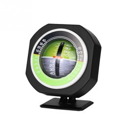 Medidor de precisión online-Luminoso al aire libre de alta precisión medidor de pendiente del vehículo brújula del coche Inclinación ángulo inclinómetro medida del equipo brújula al aire libre