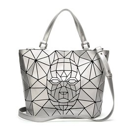 fce51688fb98 New Bao Bao bag For Women Robot Patter baobao Bag Diamond Tote Geometry  Quilted Shoulder Bags Laser Plain Folding Handbags bolso