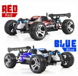 Wholesale Electric Off Road - RC Car WLtoys A959 2.4G 1 18 Scale Remote Control Off-road Racing Car High Speed Stunt SUV Toy Gift For Boy RC Mini