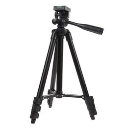 Установленная видеокамера онлайн-Профессиональный гибкий штатив Портативный алюминиевый кронштейн для наклона головки видеокамеры Digital Video Statief Travel Tripod для камеры
