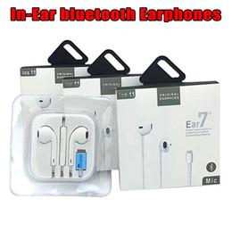 Новая бумага упаковка лучшее качество AAAA + + + + в ухо Bluetooth наушники для Mp3 сотовый телефон 7 8 плюс 8X новые 3.0 от