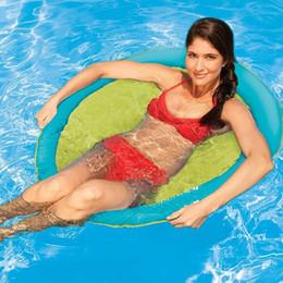 SwimWays Spring Float - Chaise de piscine Papasan - Anneau de natation léger - Cercle de natation - Cercle de natation - Adulte - Plage - Fête - La mer ? partir de fabricateur