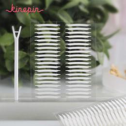 KINEPIN 160pcs Maquillage Outils Kit 3D Autocollants Oeil Invisible Transparent Paupière Bande Procès Stiker Yeux Bande De Maquillage ? partir de fabricateur