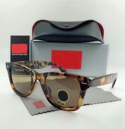 Canada Lunettes de soleil mode yeux de chat Marques Design Lunettes de soleil Lunettes Cadres Gafas de sol Hommes Femmes Miroir en verre avec étui à vendre Offre