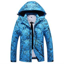 c7245e40aa 2018 Waterproof White Duck Down Jacket Men Warm Hooded Winter Parkas Thick Men  camouflage Jackets Casaco Masculino Down Jacket