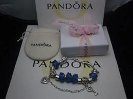 Argentina VENTA 2018 Nueva Pandora 925 Charm Sterling Silver Beads Braceles con caja envío gratis Suministro
