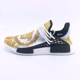 Argentina 2018 venta al por mayor barata NMD raza humana en línea 3 generación Pharrell Williams X NMD zapatillas deportivas, descuento zapatillas baratas size36-47 Suministro