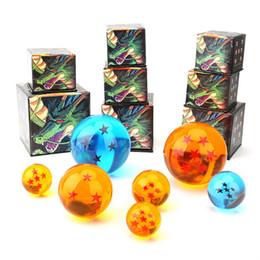 Горячая анимация DragonBall 7 звезд хрустальный шар 7,6 см один комплект новый в коробке Dragon Ball Z полный набор игрушек по niubility от Поставщики кабельная одежда