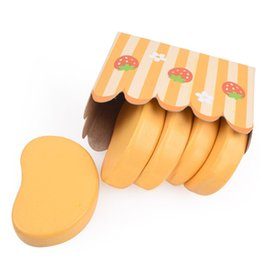 Wholesale Kitchen Chopping Blocks - Children Pretend Play And Dress Up Kitchen Toys Simulation Chicken Nugget Flavoring Chopping Block Roasted Toy Suit 6 5yw W