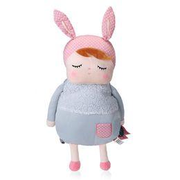 Мешки-мешки онлайн-Симпатичные kawaii аниме мультфильм сумки дети кукла плюшевые рюкзак игрушки дети сумка для детского сада Анжела Кролик девушка Metoo рюкзак