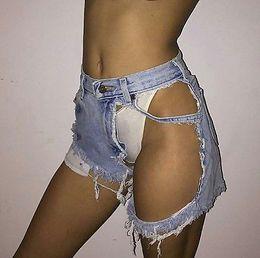 NEW Vintage ripped hole fringe blue denim shorts women Casual pocket jeans shorts 2017 summer girl hot cheap xl girl denim shorts от Поставщики xl девушки джинсовые шорты