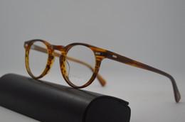 Gentes de Oliver ov5186 Gregory Peck marcos de anteojos redondos de moda Vendimia miopía óptica mujeres y hombres gafas graduadas lentes de sol desde fabricantes