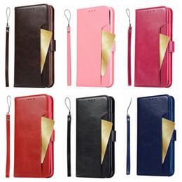 verrückte taschen Rabatt Retro Leder Brieftasche Fall für Iphone XR 6.1 XS MAX 6,5 Galaxy Hinweis 9 Note9 Multifunktions Crazy Horse Flip Abdeckung ID Card Pocket Slot Coque
