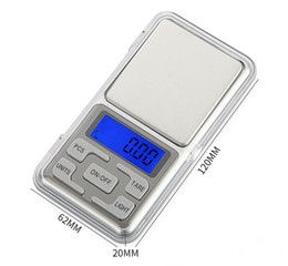 waagen wiegen gramm Rabatt Mini Elektronische Digitalwaage Schmuck wiegen Waage Balance Pocket Gramm LCD Display Waage Mit Kleinkasten 500g 0,1g 200g 0,01g STY132