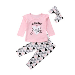 4909e58185ee PUDCOCO Newest Infant Newborn Baby Girl Long Sleeve Pink T Shirt Tops  Leggings pants headband Outfit Set casual Clothes 0-24M