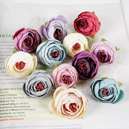 Small flowers crafts nz buy new small flowers crafts online from 10pcs artificial tea rose bud small peony flower head flores for wedding decoration wreath scrapbooking diy craft fake flowers mightylinksfo