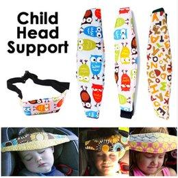 Wholesale New Pad For Kids - Adjustable Baby Car Seat New Headrest Sleeping Head Support Pad Cover For Kids Travel Interior Accessories Children Safety Belt LC768-1