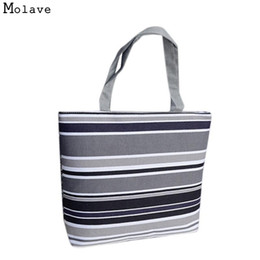Wholesale corduroy fabric wholesale - Naivety Women Handbag Geometric Printing Canvas Bag Shoulder Shopping Tote Shopper Zipper Fabric Purse 28S7517 drop shipping