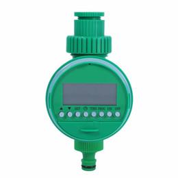 Controladores de agua caliente online-Temporizador de riego para jardín Válvula de bola Automático Temporizador de riego electrónico Venta caliente Home Garden Sistema de control del temporizador de riego