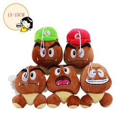 goomba toys Coupons - New 5 Style Super Mario Bros Goomba Soft Toy Plush Doll Collection & For Kids Holiday Best Gift ( Size: 13-15cm )