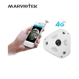 3g ip-kameras Rabatt 3G / 4G LTE drahtlose IP Kamera sim Karte 3MP Alarm vr Kameraüberwachung 360 Grad ip ptz Fahrzeug 960P mit SD-Kartensteckplatz