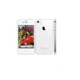 "Wholesale 4s unlocked - Refurbished Apple iPhone 4S 3.5"" inch iphone4s Unlocked SmartPhones 8GB 16GB 32GB IOS CDMA 3G IOS WIFI GPS GPS Original Phone"