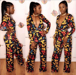 Ropa africana caliente online-Africa Bazin Riche 18SS s m l xl Ropa Africana Venta Directa de Poliéster Vestidos de Mujer Impreso 2018 Hot Style Sexy Fashion Jumpsuits