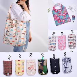 Les sacs de stockage pliables réutilisables de sac à provisions fourre-tout de polyester ? partir de fabricateur