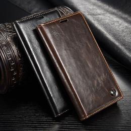 2019 casos sony z3 CaseMe Casos De Couro De Luxo Casos Para Fundas Sony Xperia Z3 Z4 Z5 Caso Coque Para Sony XZ2 Z5 Premium desconto casos sony z3