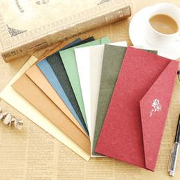 einladungsbrief für hochzeit Rabatt Kraft Blau Schwarz Weiß Papier Umschlag Message Card Hochzeit Einladung Brief stationäre Lagerung Papier Geschenk Sobres Papel
