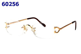 Wholesale Metal Frames Reading Glasses Women - Luxury Metal Optical Glasses Frame for Men Women Rimless Eyeglasses Frames Fashion Reading Glasses Spectacles With Box