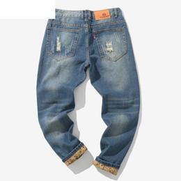 Großhandel Neue Männer Casual Herbst Denim Baumwolle Vintage Wash Hip Hop Arbeitshose Jeans Hosen Männer Jeans Hosen Slim Fit Vaqueros Hombre 5 Von