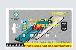 Wholesale Play Install - 100%Genuine plug n play Heicard ICCID work for ios 11 ,10.x for iPhoneX,iphone 8,8PLUS 7,7plusEasy Installing Unlocking Sim Card blac chip