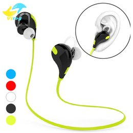 Cuffie qy7 online-Auricolare Bluetooth QY7 In-Ear Bluetooth 4.1 Auricolare Stereo Sport Moda Correre Cuffie Studio Musica Auricolare per Iphone 8 X Samsung