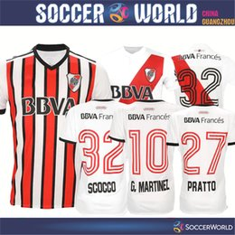 Wholesale Mora Black - 2018 River Plate soccer jersey River Plate SCOCCO MORA G.MARTINEZ MAIDANA E.PEREZ PRATTO football shirts